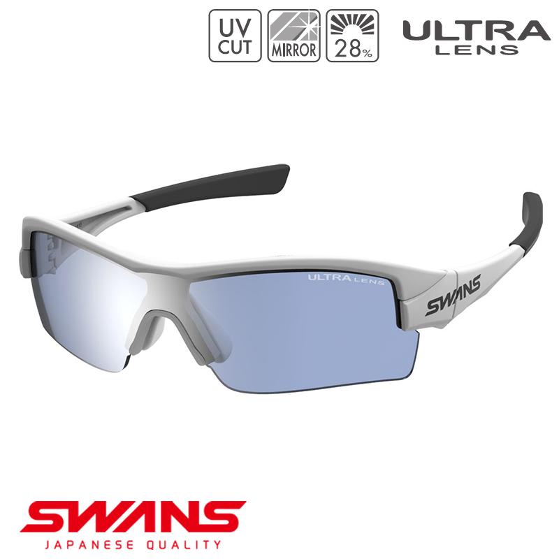 スポーツサングラス STRIXH-0714 MAW SWANS スワンズ STRIX H ストリックス・エイチ ハーフリム ゴルフ 釣り スポーツ アウトドア