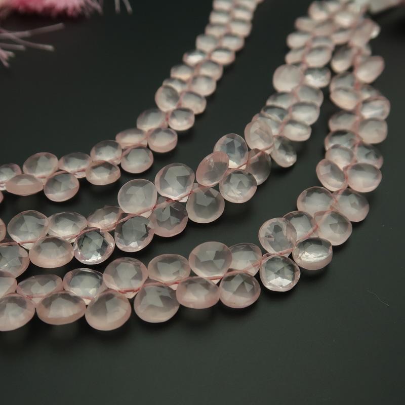 [ポイント3倍][ポイント3倍] 宝石質ローズクォーツAAA平マロンカットビーズ約6.5×6.5mm 一連売り(54ー56粒), ダヒヨーグルト種菌通販レインビオ:4e3bdb1a --- sunward.msk.ru