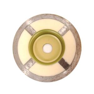 ノリタケ NORITAKE 石材用 乾式研削工具 カップ型ダイヤモンドホイール 外径102mm×チップ幅7mm×穴径15mm 樹脂埋込型 フェースタイプ ディスクグラインダー用