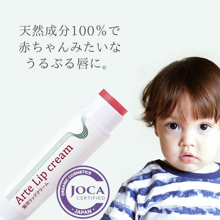 オーガニックコスメ 石油由来成分ゼロ 親子で使える レビューを書いて次回10%割引クーポンゲット ≪日本国内メール便対応≫アルテ紫草リップクリーム 4g 商品 オーガニック 保湿 ママ メンズ 気質アップ 日本製 皮むけ 子供