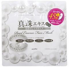 アロヴィヴィ 卸売り 真珠フェイスマスク 45枚入 アウトレットセール 特集