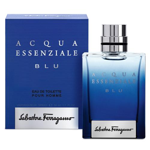 【サルヴァトーレ フェラガモ】アクア エッセンツィアーレ ブルー 50mL【香水 フレグランス 男性用】