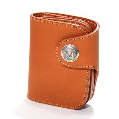 0b9899dc48ec 二つ折り財布 [メンズ 男物 本革 サドルレザー 日本製 職人 匠 手作り ...