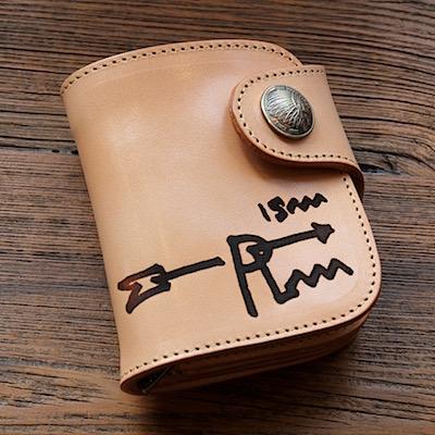 レッドムーン 財布 REDMOON ショートウォレット ISM-HR-01A サドルレザー RMism焼印 限定商品【送料無料】