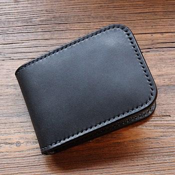 レッドムーン ウォレットREDMOON ショートウォレット RM-CSW ハンドメイド 手縫い サドルレザー 販売店限定
