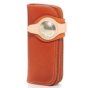 Red moon wallet MUMIYA long wallet MM-RM02-38A