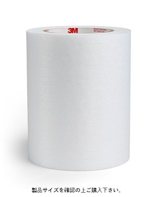 3M(スリーエム) 皮膚貼付用片面テープ 100mm×50m [2476P]