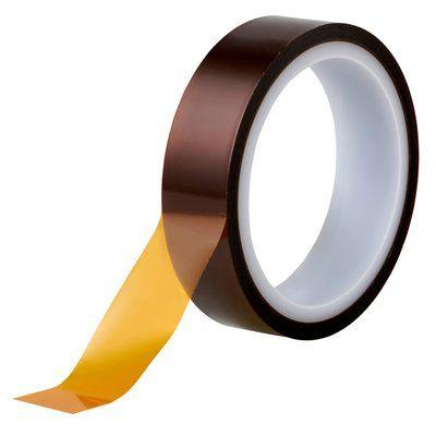 3M(スリーエム) ポリイミド 耐熱マスキングテープ(アクリル系粘着剤) 25mm×32.9m [5412]