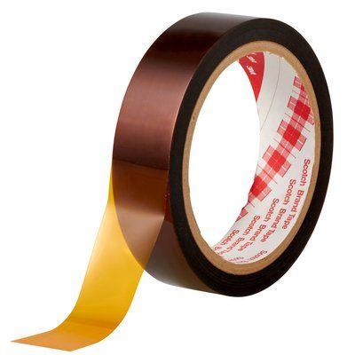 3M(スリーエム) ポリイミド 耐熱マスキングテープ 19mm×33m [5413]