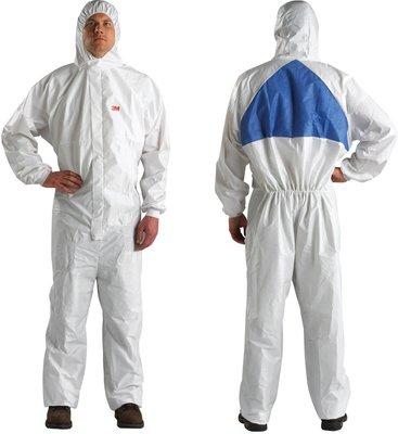 3M(スリーエム) 化学防護服 XLサイズ (身長179~187cm 胸囲108~115cm) 20着 [4540PLUS XL]