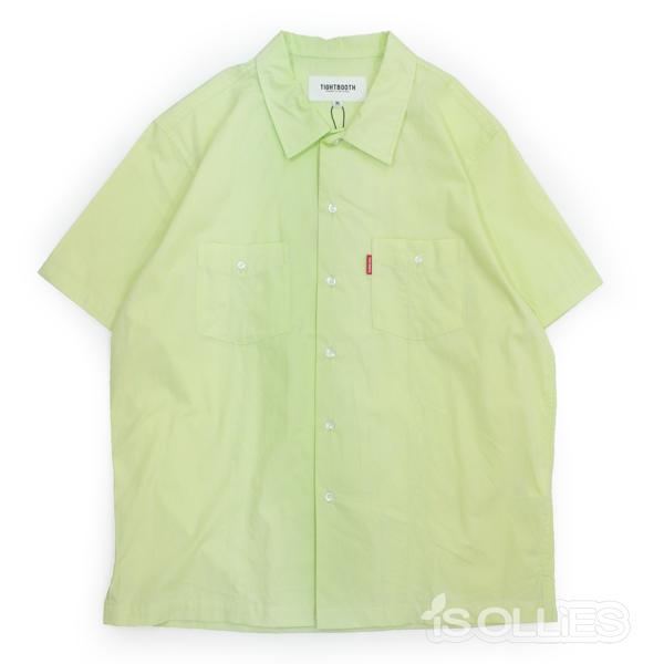 TBPR(タイトブース)CUBA SHIRT(シャツ)MINT(ミント)(黄緑)