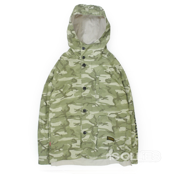TBPR(タイトブース)tightboothCAMO FIELDPARKA DEAERT(skataboard)(スケートボード)(ミリタリーJKT)(ジャケット)(コート)(coat)(spring)(迷彩)(リバーシブル)