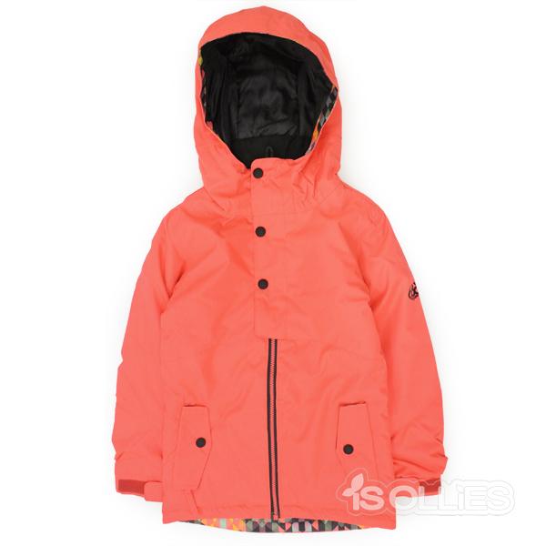 686(sixeightsix)GIRL'S SCARLETINSULATED JACKETELECTRIC POPPYCOLORBLOCK(snowboard)(kids)(キッズ)(ガールズ)(子供用)(女の子用)(ジャケット)(雪)(スノーボード)(スノボ)(ウェアー)(wear)Sサイズ