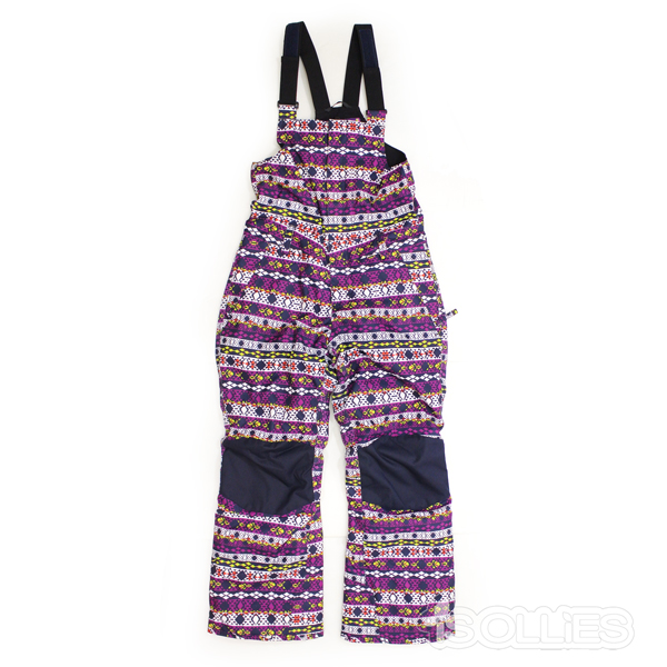 686(sixeightsix)GIRL'S CORNICEINSULATED BIB NORDIC PRINT(snowboard)(kids)(キッズ)(ガールズ)(子供用)(女の子用)(パンツ)(ビブパンツ)(ノルディック)(スノーボード)(雪)(スノボ)(ウェアー)(wear)