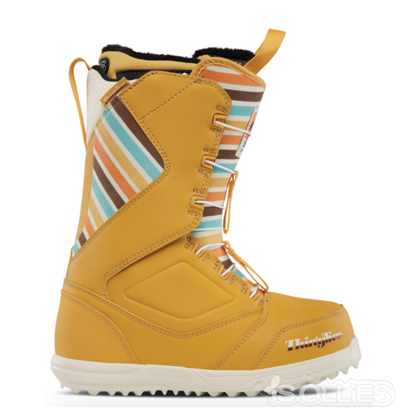 thirtytwo(サーティーツー)(32)ZEPHYR FT W'S '17YELLOW(黄色)(snowboard)(スノーボード)(boots)(ブーツ)fasttrack(雪)(雪山)