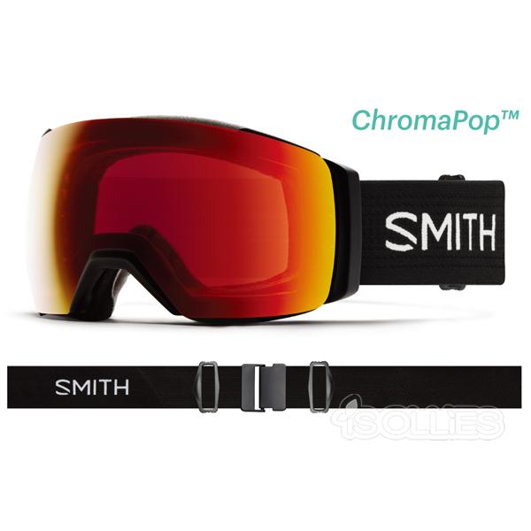 SMITH(スミス)I/OMAGXL Blackレンズ2枚付属Snowboard スノーボードgoggleゴーグルマグネット 磁石