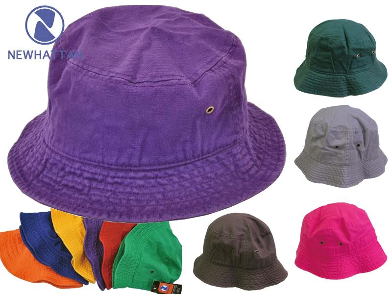 80327db03 New Hatten bucket Hat men's & Womens Stonewashed NEWHATTAN STONE WASHED  BUCKET HATS
