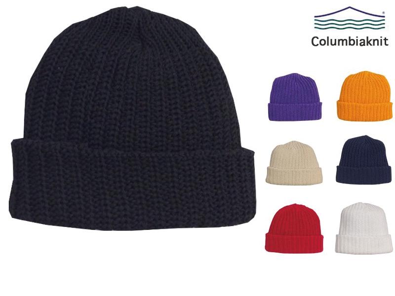 コロンビアニット ニット帽 ニットキャップ ビーニー メンズ Made in USA コロンビアニット ニット帽 ニットキャップ ビーニー Columbia Knit Watch Cap Beanie
