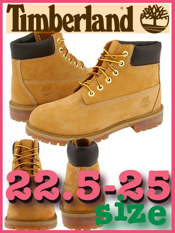 【ティンバーランド】TIMBERLAND レディース対応サイズ 6インチプレミアム ブーツ 6 Inch Premium Boot Junior