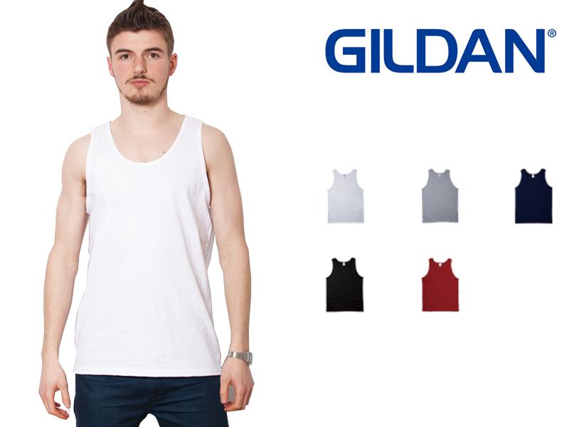 324438543d7118 Gildan GILDAN tank tops mens white S-XL size   2200 Ultra Cotton 6.0 oz Tank  Top