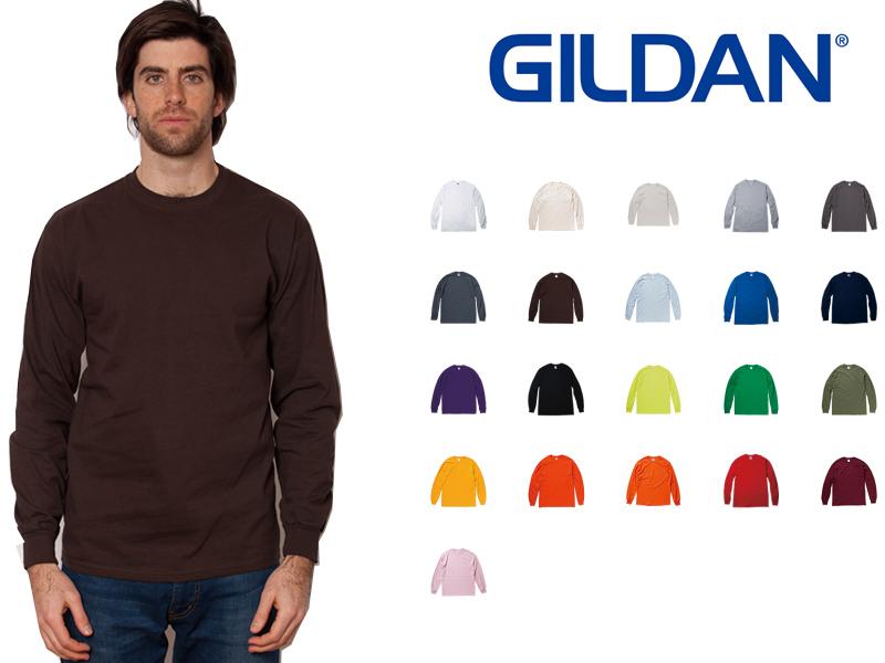 dbaf705e isoroku: Gildan GILDAN long sleeves T shirt kids & mens color YL ...