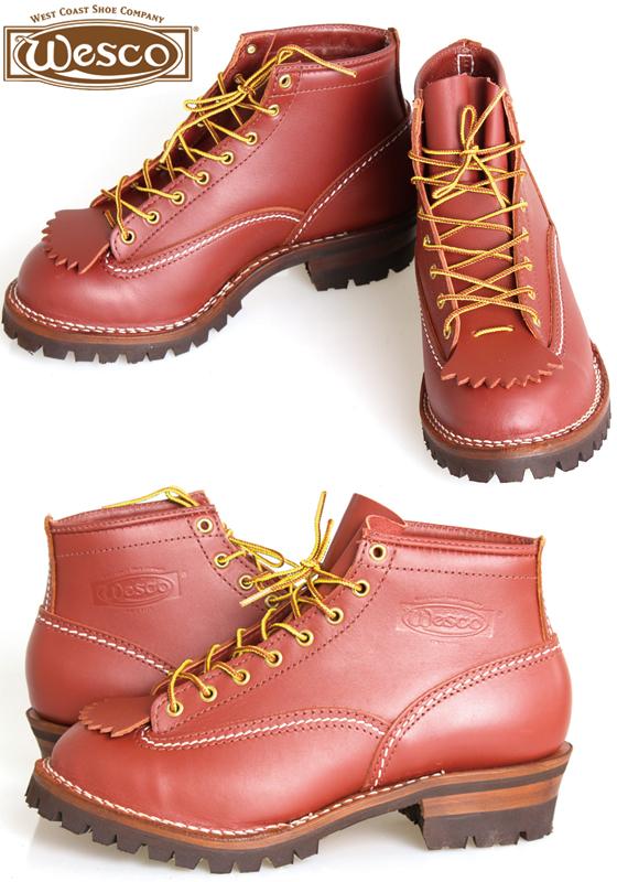 Wesco ウエスコ ジョブマスター Job Master 6インチ ブーツ REDWOOD
