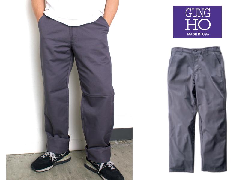 GUNG HO ガンホー チノパン 1772 Military Chino Pant