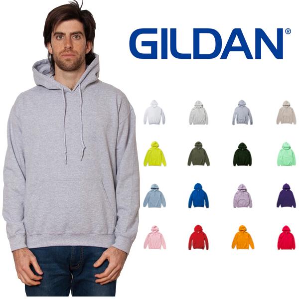 ギルダン パーカー ご予約品 GILDAN フーデッド メンズ おすすめ S~XLサイズ Heavy Blend oz アメリカ流通品番 Parka Adult #18500 Hooded 8.0