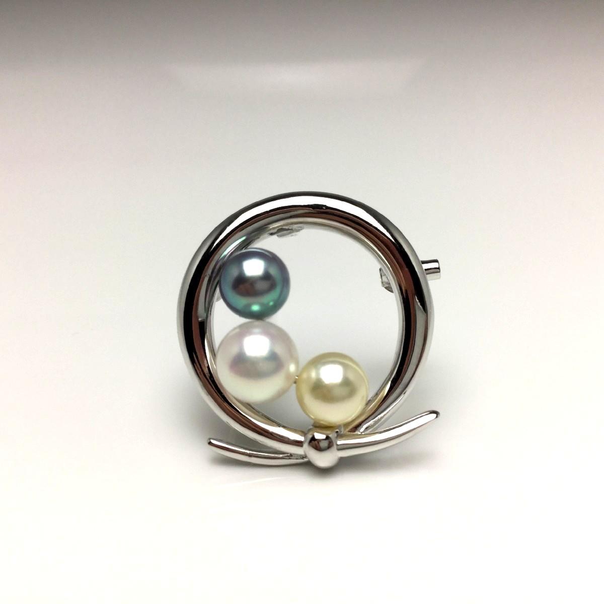 激安価格の 真珠 真珠 ブローチ パール アコヤ真珠 6.5mm・5.5mm 6.5mm・5.5mm シルバー マルチカラー シルバー 67101 イソワパール, 期間限定特別価格:9eaf2401 --- cpps.dyndns.info
