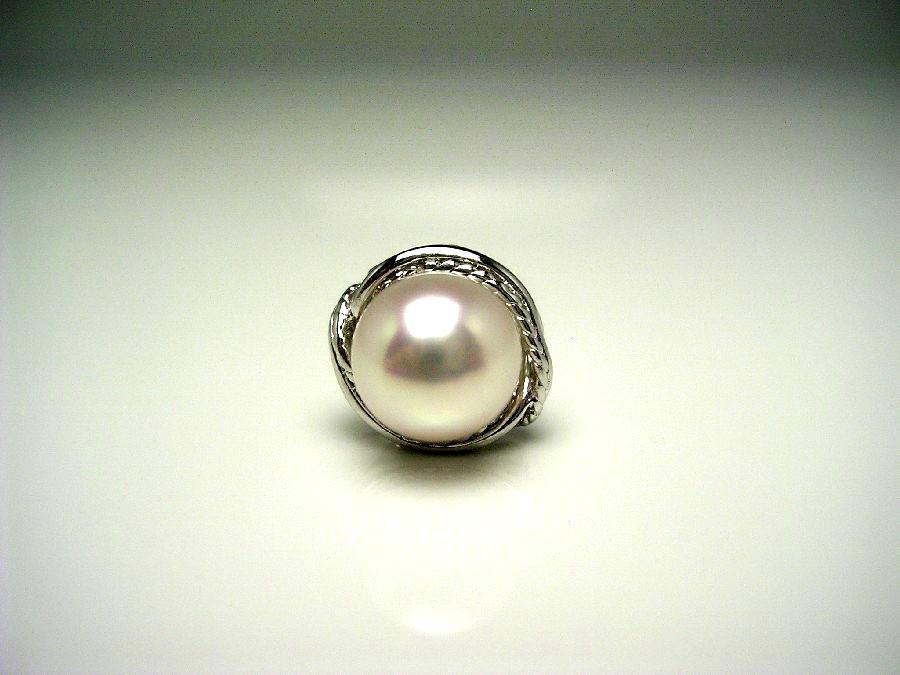 真珠 ネクタイピン パール アコヤ真珠 9.3mm ホワイトピンク シルバー 56706 イソワパール