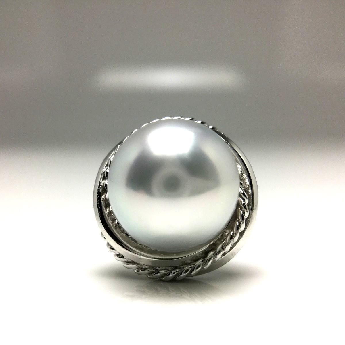真珠 ネクタイピン パール アコヤ真珠 9.07mm ホワイトシルバーブルー(ナチュラル) シルバー 65834 イソワパール