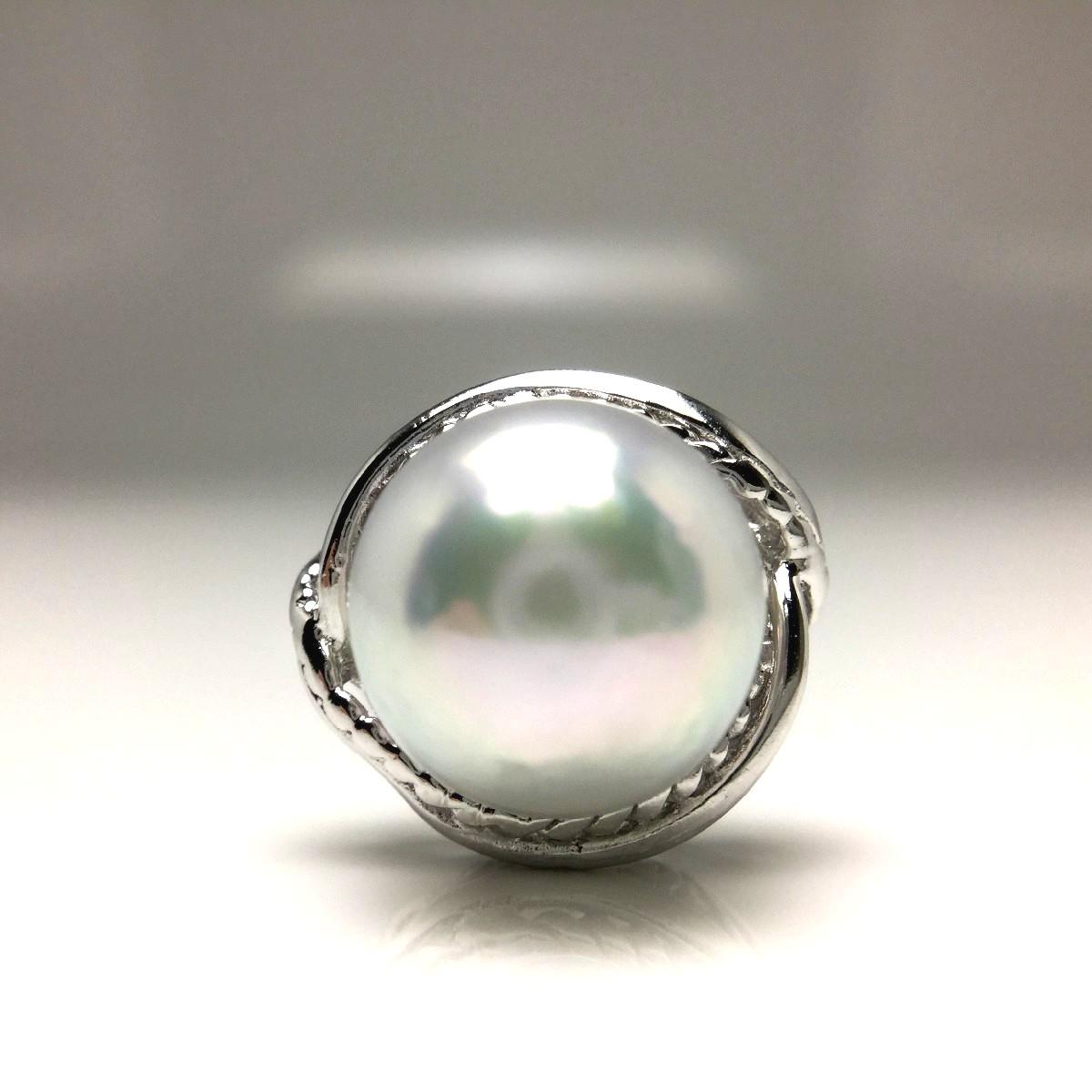 真珠 ネクタイピン パール アコヤ真珠 9.36mm ホワイトシルバーブルー(ナチュラル) シルバー 65835 イソワパール