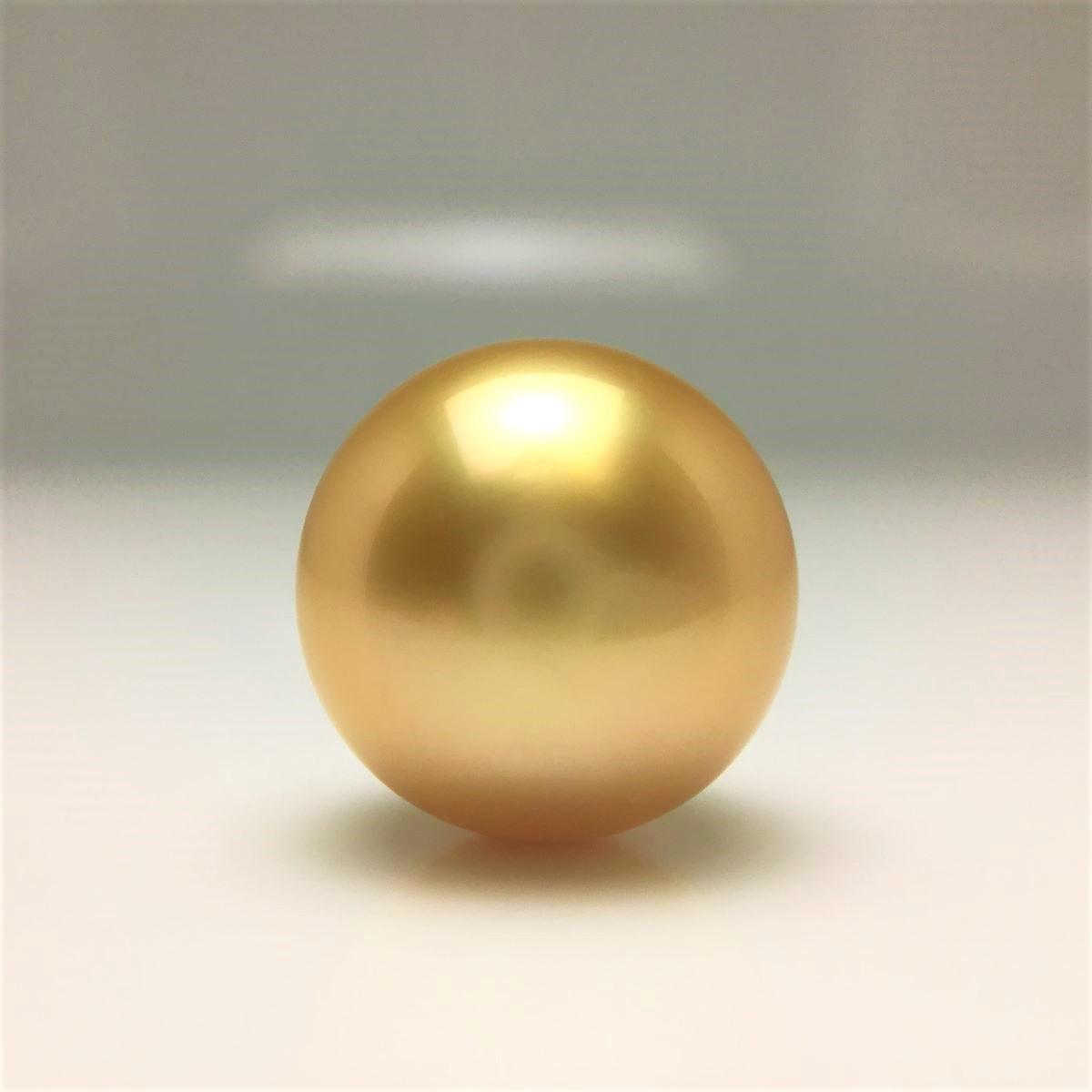 【10%OFF】真珠 ネクタイピン パール 白蝶真珠 12.38mm ゴールド(ナチュラル) K18 イエローゴールド 針 66989 イソワパール