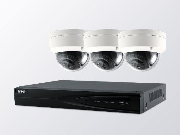 【2年保証】 防犯カメラ IP インターネット セット 3台 監視カメラ 録画機 4000GB【SET665-3】広範囲 設計 夜間 撮影 手元 人相 ネットワークカメラ オフィス 駐車場監視 見守りカメラ ペット ベイビー 見守り 子供 ネットカメラ