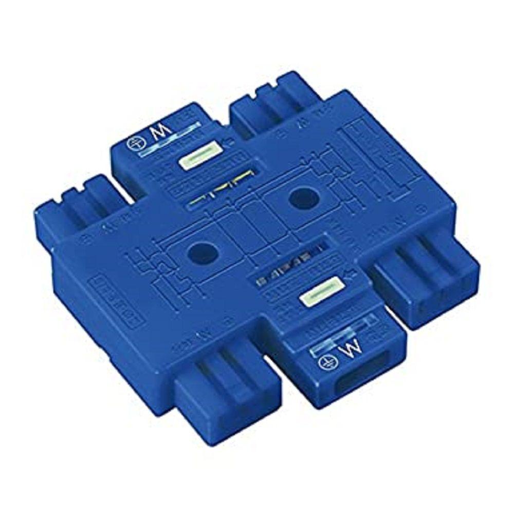 商い ハーネス用ジョイントボックス4分岐ブルー DC8084 L お金を節約