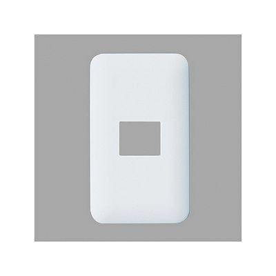 ワイド プレート 簡易耐火ラウンドコンセントプレート(1コ用) WTF7701W