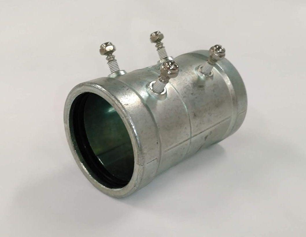 厚鋼電線管用 ※ラッピング ※ 厚鋼カップリング 激安通販専門店 防水ねじなし型 ZWCI82