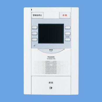Vシリーズ用 住戸用カラーモニター付 セキュリティインターホン1M型親機 SHVB68431WK
