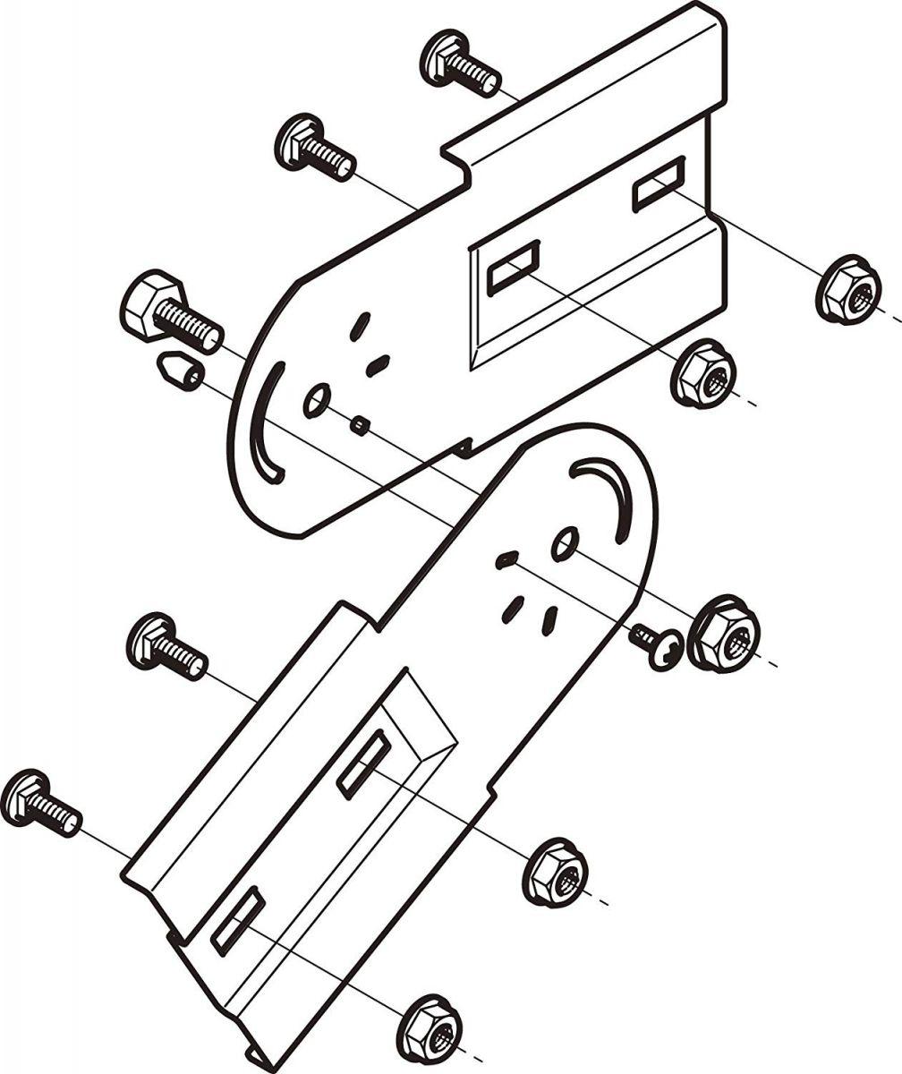ケーブルラック部材(10個入) QRFG2