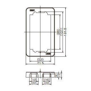 卓越 配線器具 継枠 1連用 BAN-13-1 13mm 新作からSALEアイテム等お得な商品 満載