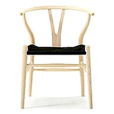 Yチェア (アッシュ材 座面ブラック オイル塗装) Yチェア ハンス・J・ウェグナー 椅子 チェア カールハンセン ダイニングチェア