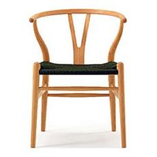 Yチェア (チェリー材 座面ブラック オイル塗装)専用クッションプレゼント!CH24 カール・ハンセン&サン ハンス・J・ウェグナー / Carl Hansen & Son Hans J. Wegner Y チェア 椅子 ダイニングチェア 北欧
