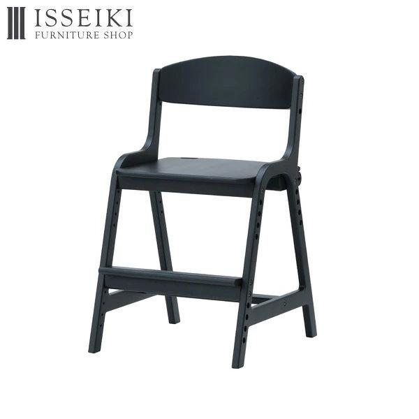 組み替えて色々なポジションに対応可能 高さ調節の出来る足置き付きの おしゃれで可愛い学習チェア 期間限定 人気の北欧テイストで飽きの来ないシンプルなデザイン 一生紀オリジナル 組立式 学習椅子 木製 子供 高さ調節 学習チェア 椅子 学習 勉強 リビング学習 学習イス ISSEIKI ダイニングチェア シンプル AIRY ウレタン塗装 ラバーウッド材 101-02546 子供用 ブラック キッズ 北欧 KIDS 全国どこでも送料無料 品質保証