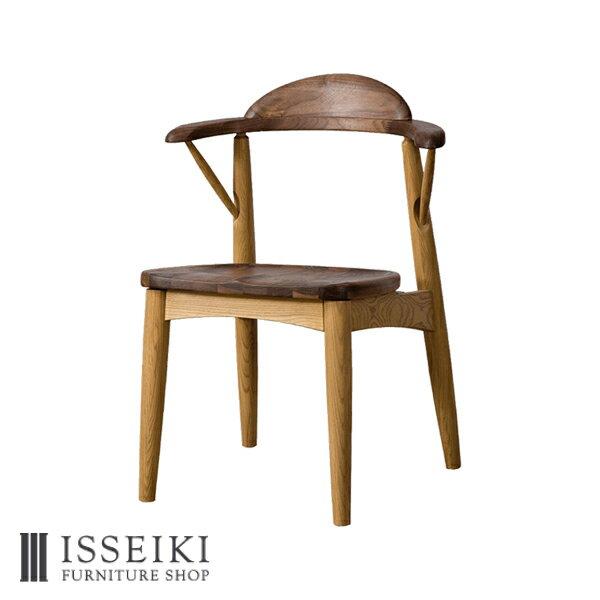 ダイニングチェア 和風 デザイナーズチェア モダン 1人掛け チェアー 椅子 イス おしゃれ スツール テーブル 食卓いす 座 木製 ウォールナット材 アッシュ材 ウレタン塗装 品質保証 ベージュ D VECTOR PROJECT KOZUE 102-00203