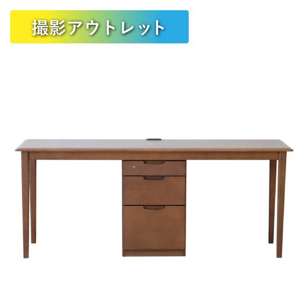 【アウトレット】家具 撮影用 ERIS 180 TWIN DESK (BE-MBR)
