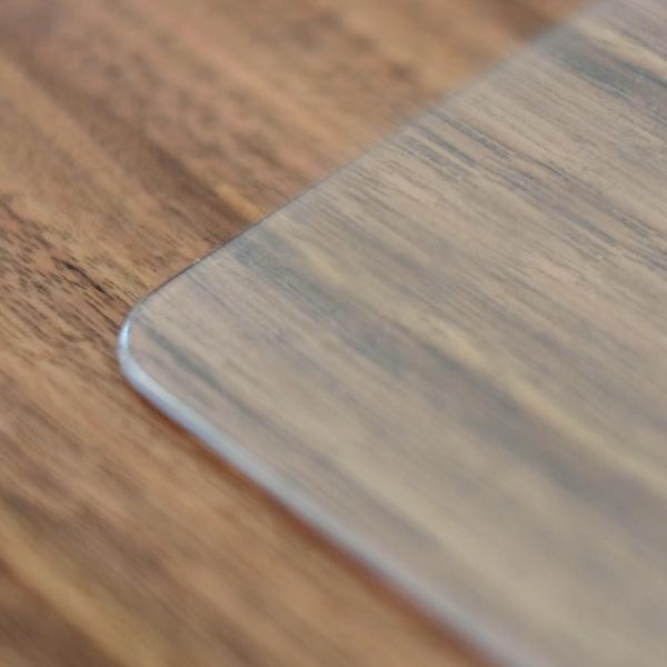 【PSマットのみ】一生紀 ウェーブ100 センターテーブル 専用 傷防止マット 家具 傷防止 天板用 キズ防止マット テーブルマット 透明 非転写 厚み 2mm
