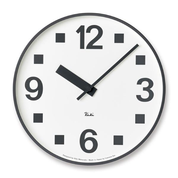 【合計3980円以上ご購入で送料無料】 時計 置き時計 掛け時計 雑貨 プレゼント インテリア デザイン オシャレ シンプル 可愛い カフェ リビング ダイニング 寝室 ベッドルーム RIKI PUBLIC CLOCK WR17-07 239-00121