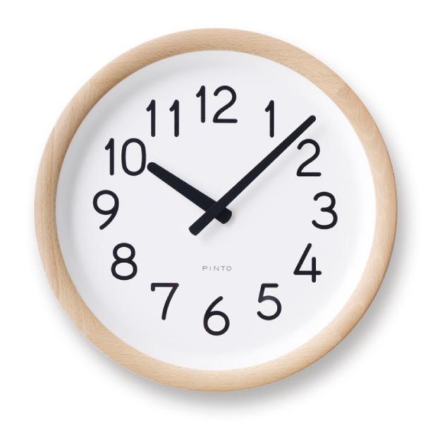 【合計3980円以上ご購入で送料無料】 時計 置き時計 掛け時計 雑貨 プレゼント インテリア デザイン オシャレ シンプル 可愛い カフェ リビング ダイニング 寝室 ベッドルーム Day To Day Clock / ナチュラル ベージュ ブラウン 239-00219