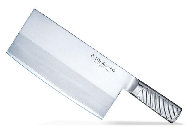 プロの厨房からご家庭まで PRO DPコバルト合金鋼割込 藤次郎 TOJIRO 中華包丁 225mm 包丁 厚口