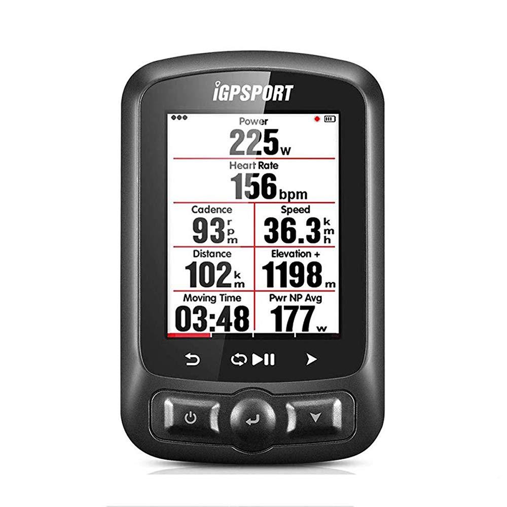【送料無料】iGPSPORT iGS618E サイクルコンピューター・GPS 自転車コンピューター ナビゲーション ワイヤレスコンピュータ Ant+関数 速度計 ハートレートモニタ IPX7防水 ワイヤレス式 バ